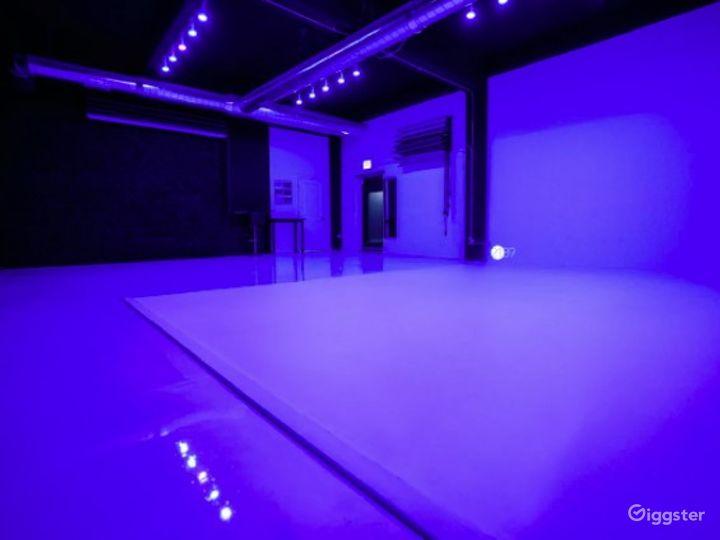 Natural Light Photo / Video Studio with Cyc Wall & RGB Lights Photo 3