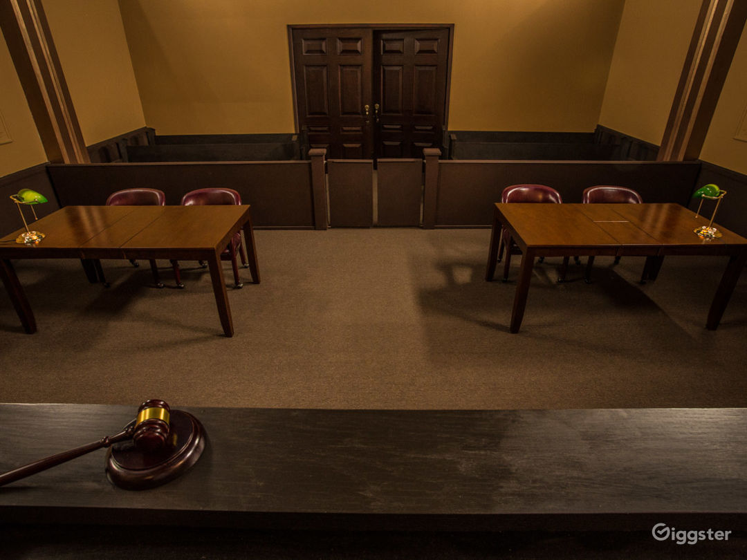 Courtroom Standing Set Photo 2