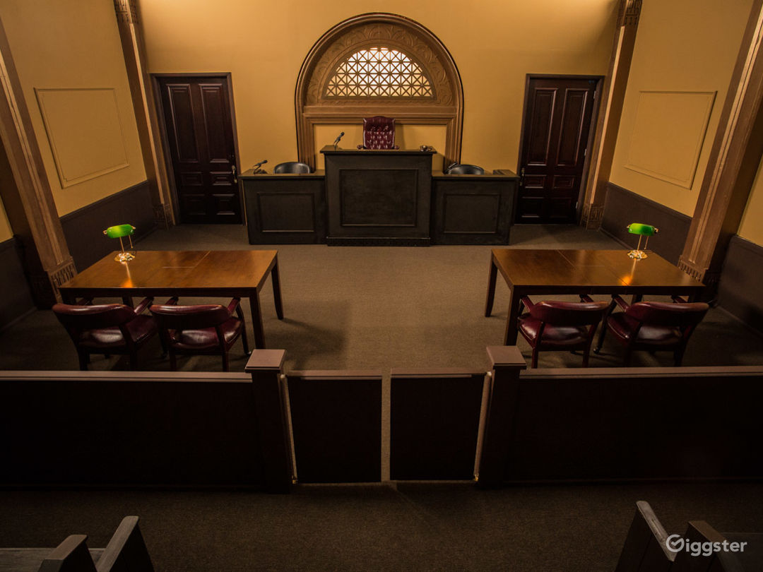 Courtroom Standing Set Photo 1