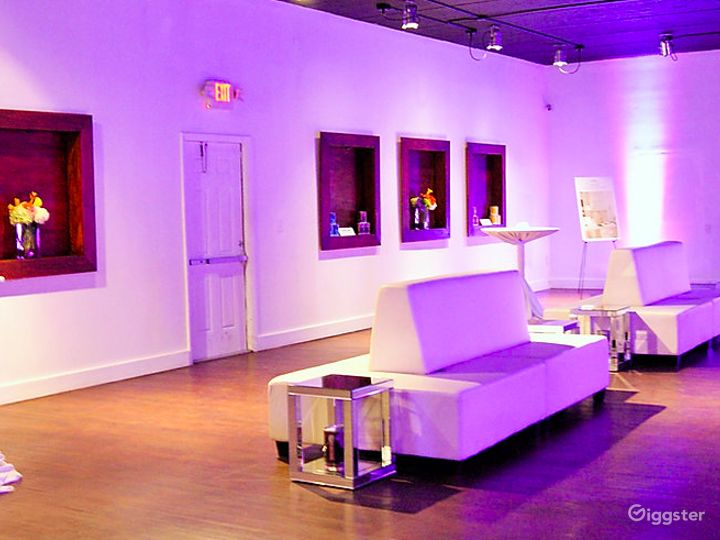 Uniquely Designed Contemporary Event Space