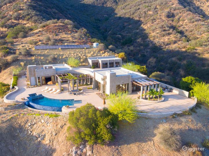 Ojai Infinity Mountain Villa