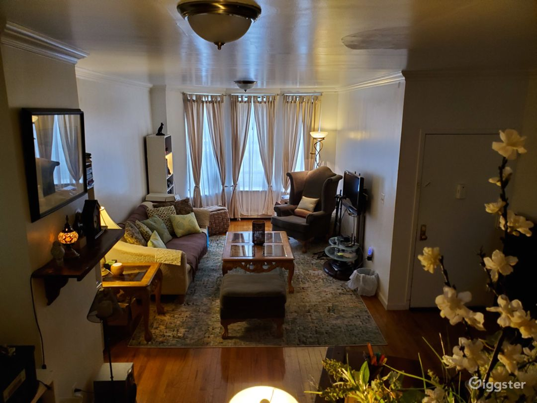 Livingroom from stairs