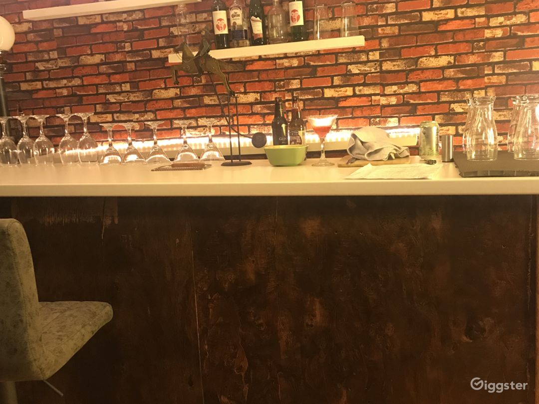 Bar Set - rustic, chic, set for film and photo Photo 1