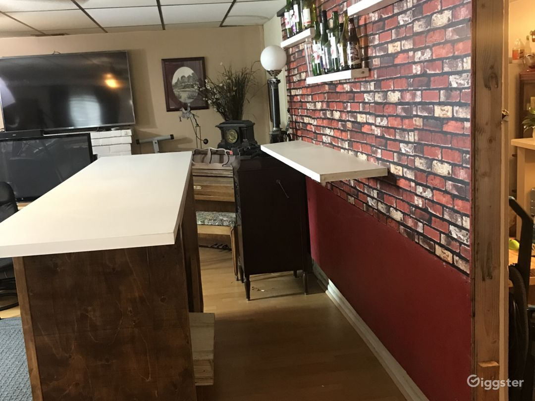 Bar Set - rustic, chic, set for film and photo Photo 5