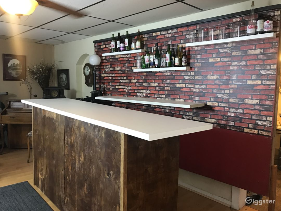 Bar Set - rustic, chic, set for film and photo Photo 2