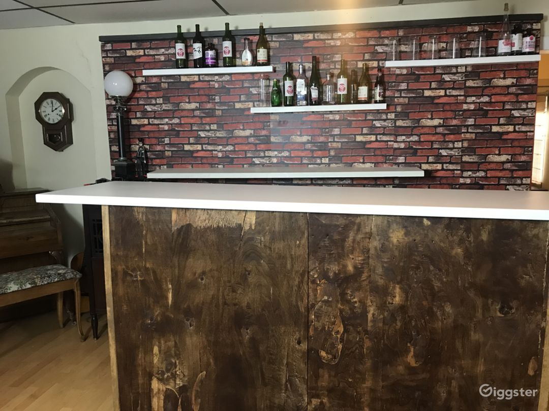 Bar Set - rustic, chic, set for film and photo Photo 4