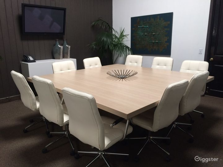 Neat Conference Room in Newport Beach