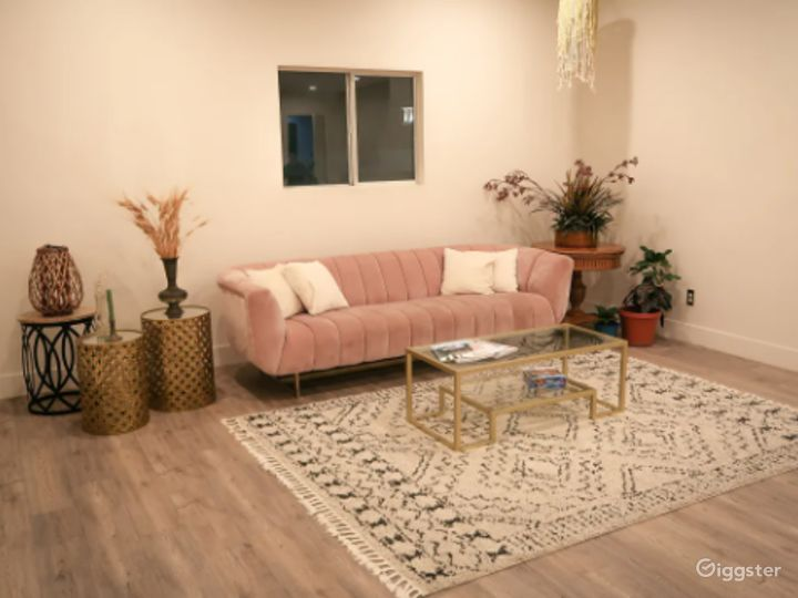 Stylish Modern/Boho Studio Space