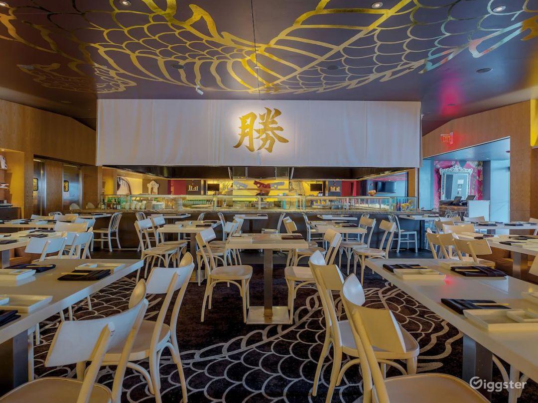 Upscale Los Angeles Sushi Restaurant - Full Buyout Photo 1