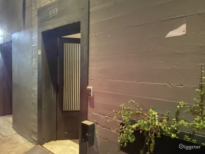 Downtown Los Angeles Back Alley/NightClub Entrance Photo 3