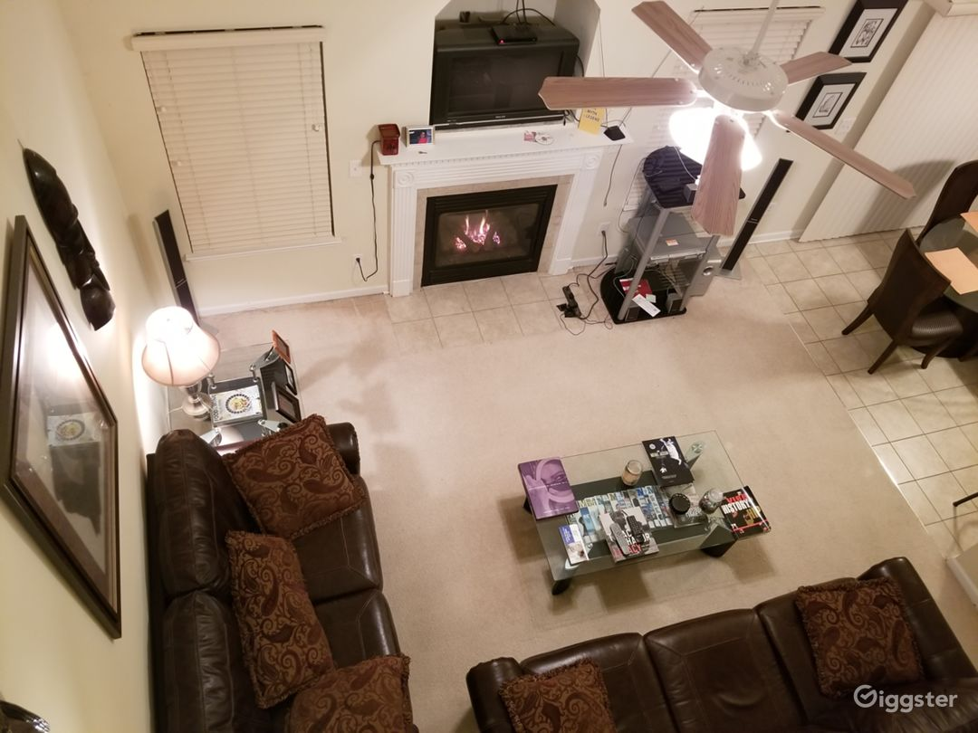 Great Room from Catwalk