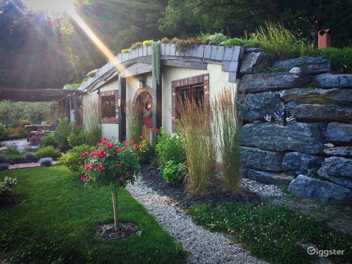 Hobbitish Fantasy in The Lush Green Mountains VT  Photo 3