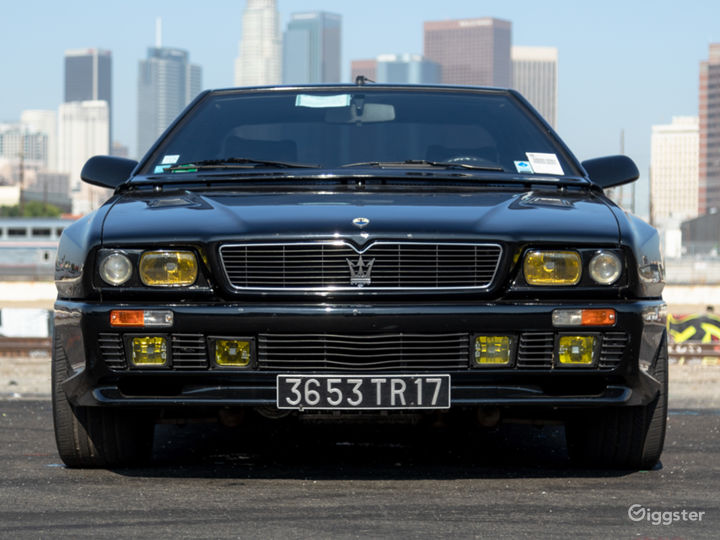 Modern Classic: Extremely Rare Aggressive Maserati Photo 4
