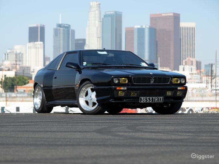 Modern Classic: Extremely Rare Aggressive Maserati Photo 3