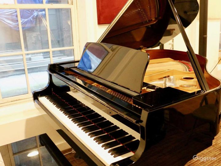 Equipped Old Style Studio with Brand New Kawaii Grand Piano in NY Photo 5