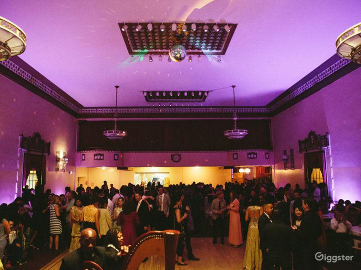 Elegant Historical Ballroom in Downtown Oakland CA