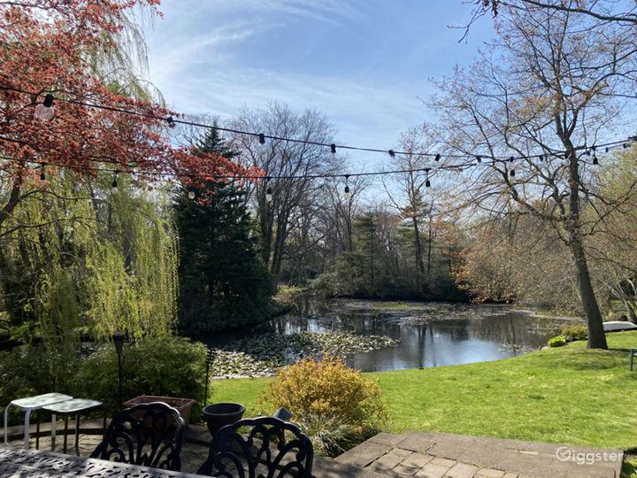 Beautiful Backyard with Breathtaking Lake Photo 4