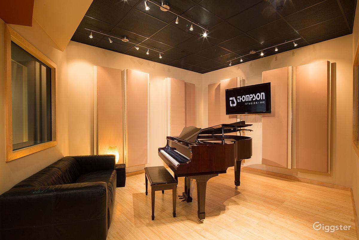 Modern Contemporary Recording Studio in SoHo New York Rental