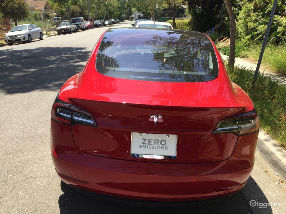 Tesla Model 3 back end.