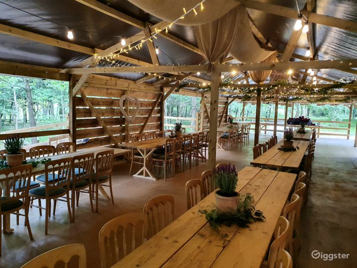 Our woodland hall