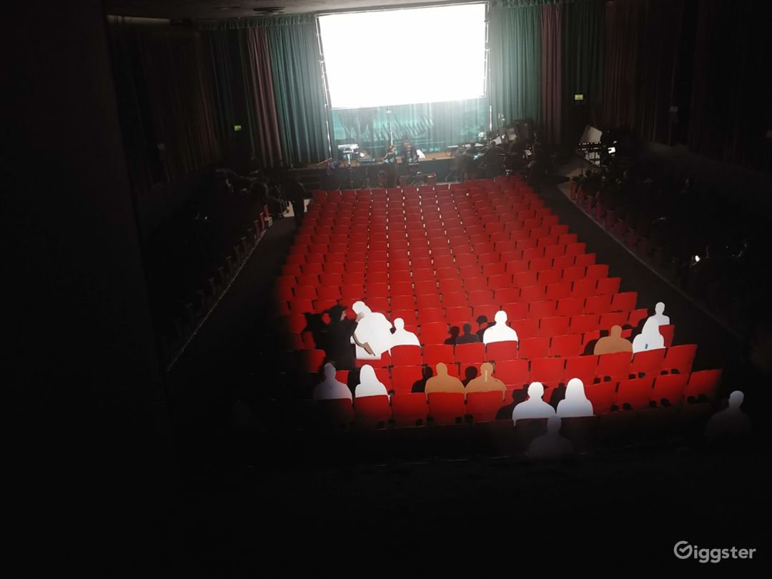 Old-Fashioned Single-Screen Movie Theater/Cinema Photo 5