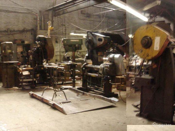 Industrial metalworking space: Location 3156