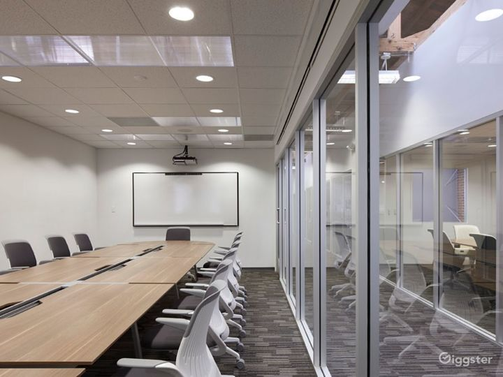 Large conference room breakout space
