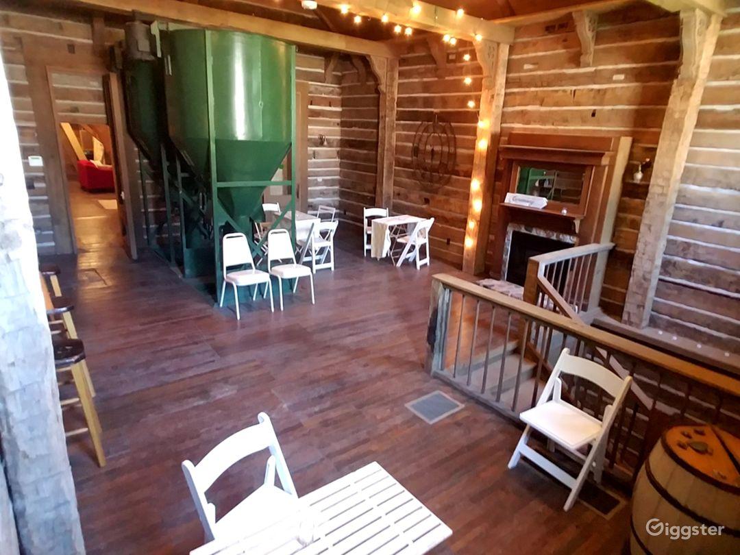 1900's Mill Lodge grain room