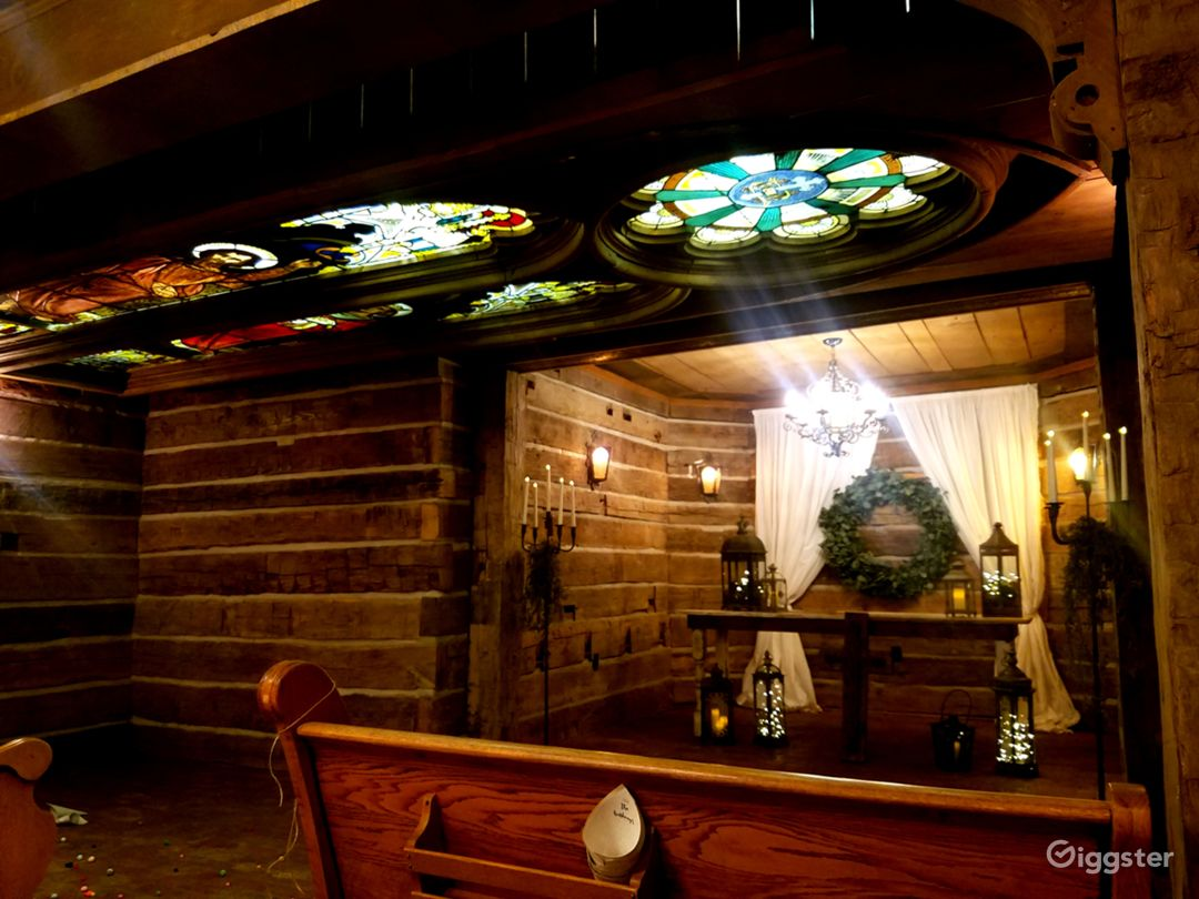 Mill Lodge underground chapel. Most people say this reminds them of the game of thrones.