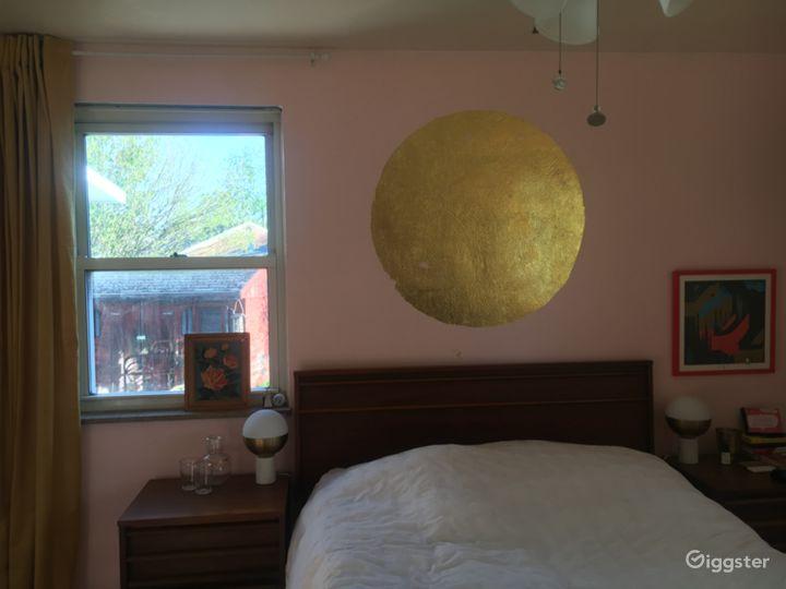 Master bedroom goldleaf