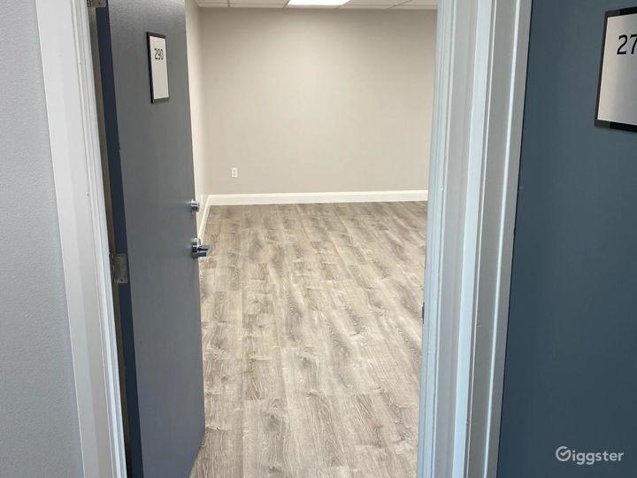 Doorway into empty unit