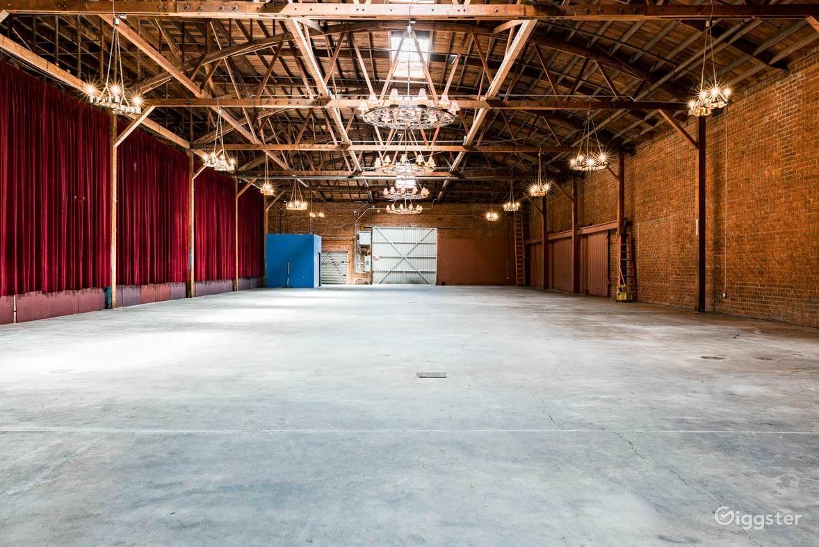 Rustic Brick Warehouse in Downtown Los Angeles Los Angeles Rental