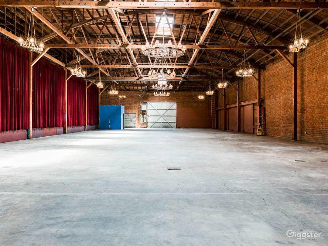 Rustic Brick Warehouse #2 Filming Photo 4