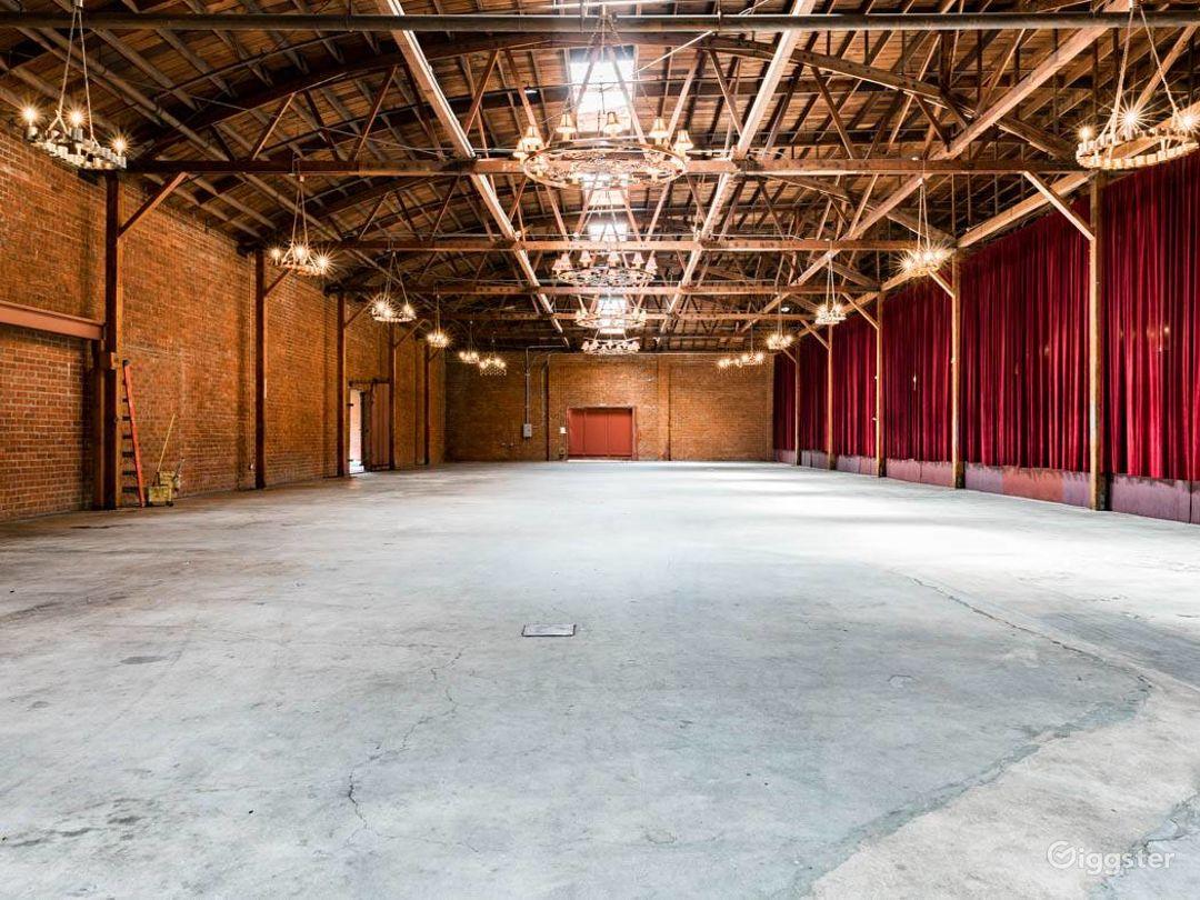 Rustic Brick Warehouse #2 Filming Photo 2