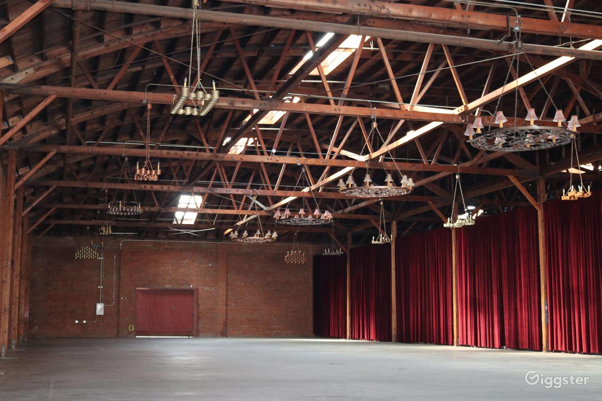 Rustic Brick Warehouse in DTLA Los Angeles Rental
