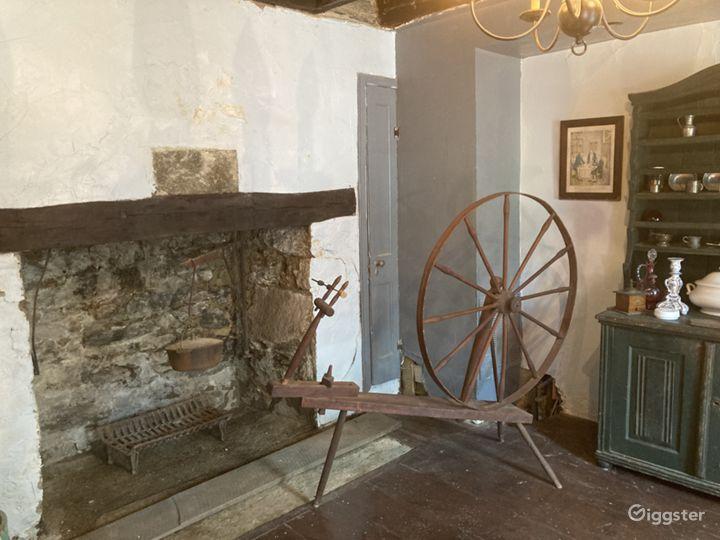 Original House and Fireplace c. 1698