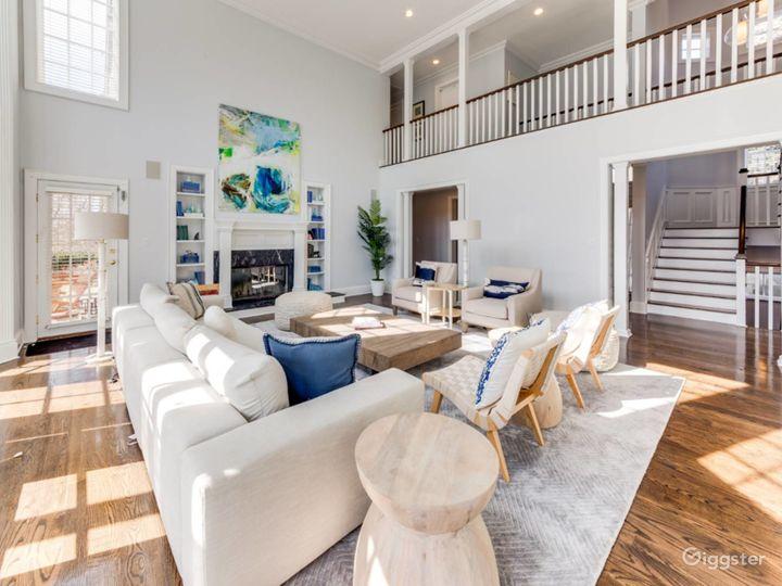 Spacious, light, airy Hamptons home: Location 5276 Photo 4
