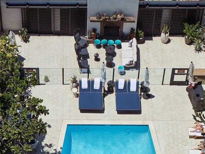 Modern Rooftop Pool in LA Photo 5