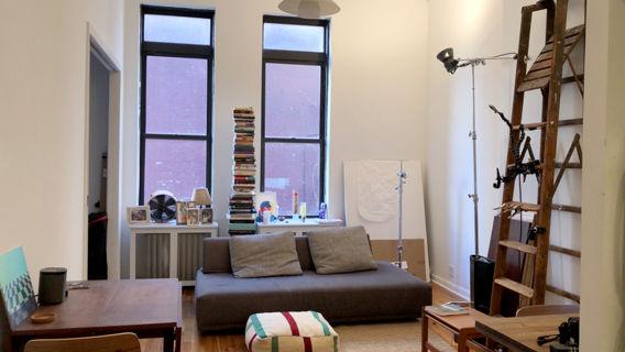 Phenomenal 1 Bedroom Apt Photo Studio In Hamilton Heights Home Remodeling Inspirations Genioncuboardxyz