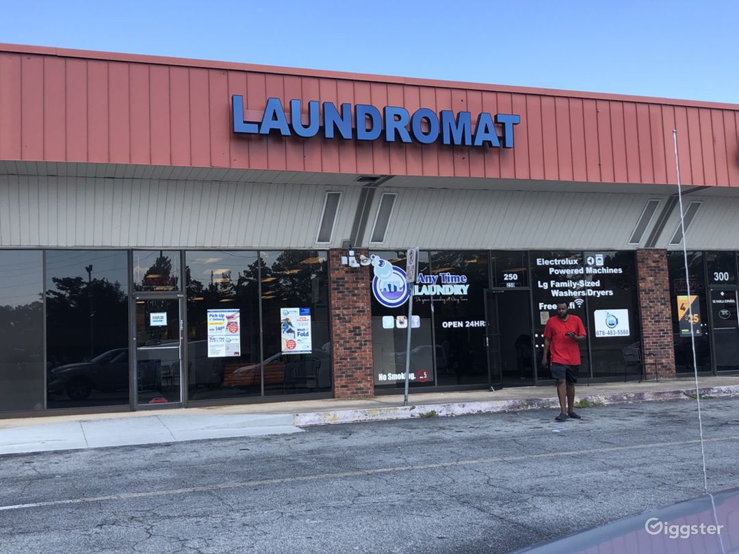 Exterior photo of laundry