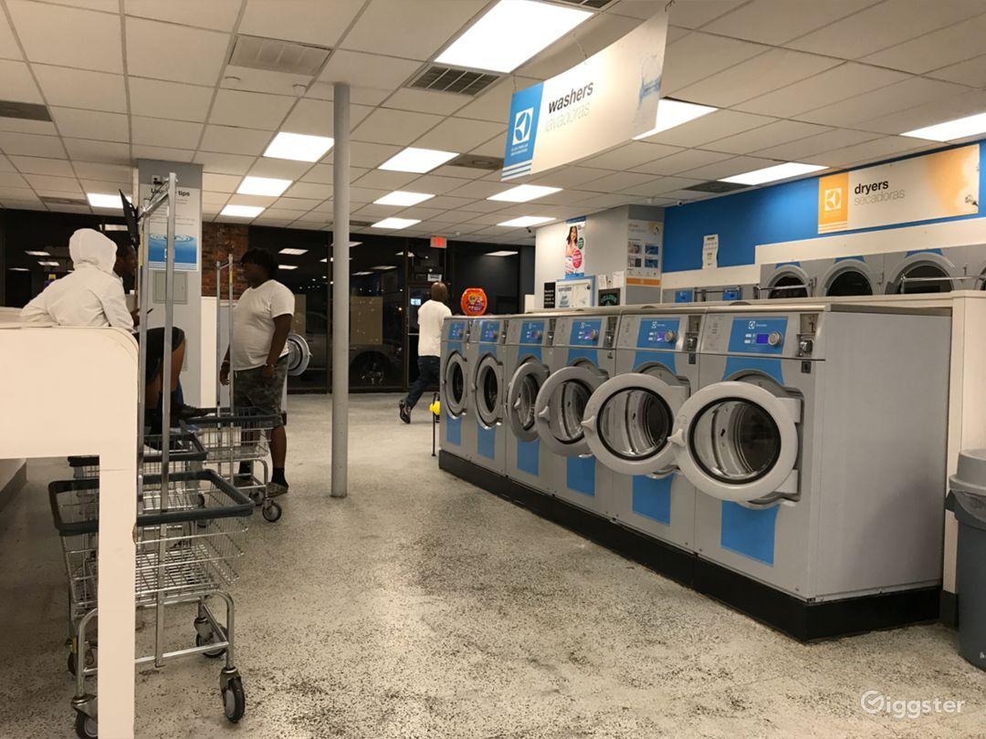 Interior Laundromat