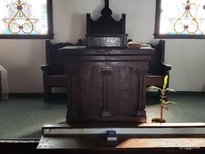 Chapel Pulpit