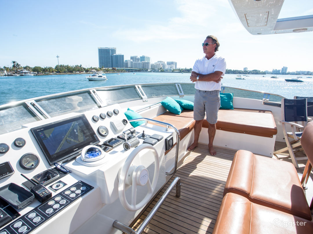 Enormous, One of a Kind 85FT AICON Party Yacht Space Events Photo 1
