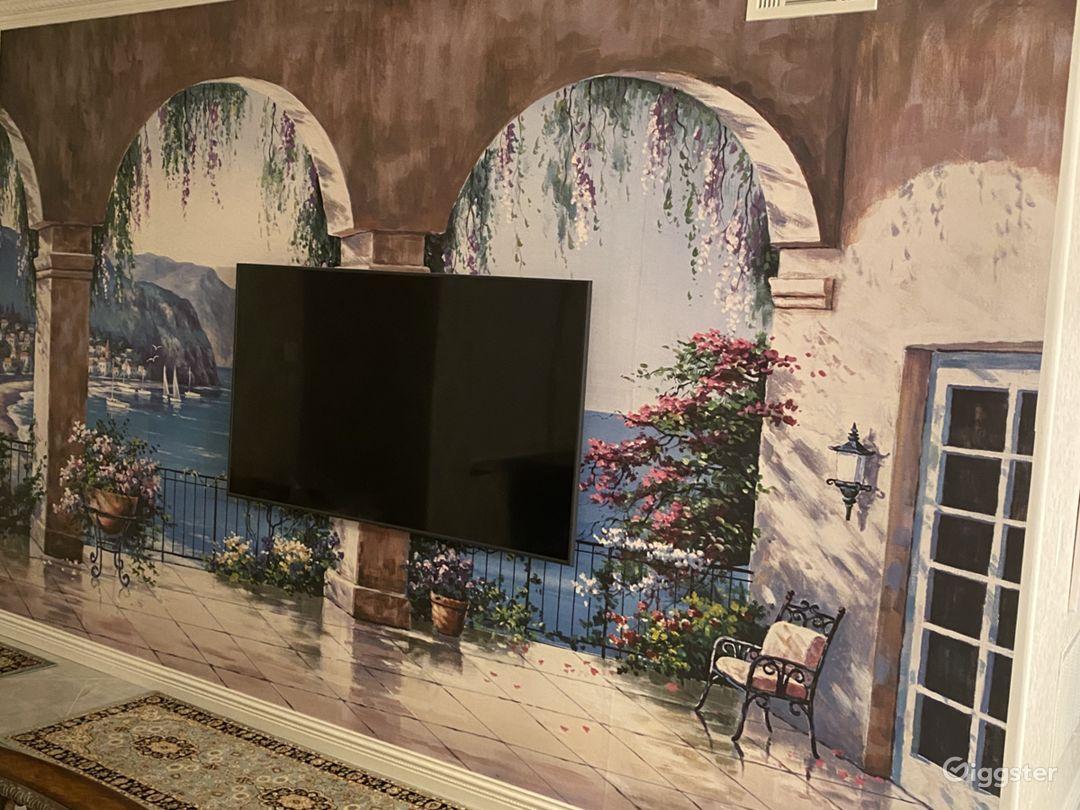 living room TV gig speed internet