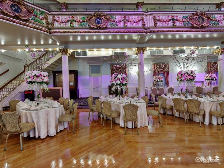 Ornate event space: Location 201 Photo 2