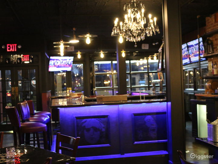 Vibrant Rock and Roll Bar with Stage  Photo 4