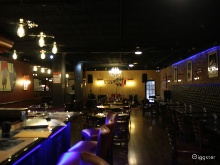 Vibrant Rock and Roll Bar with Stage  Photo 3