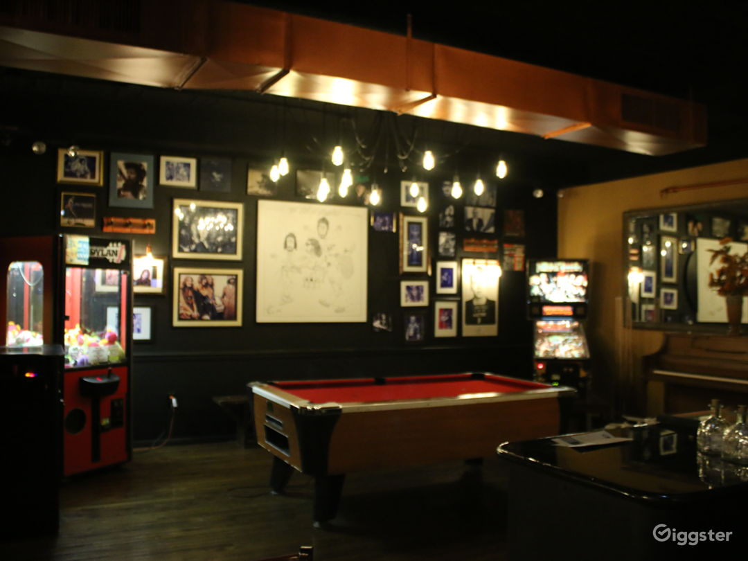 Vibrant Rock and Roll Bar with Stage  Photo 1