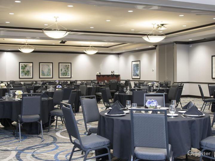 Spacious Ballroom for you