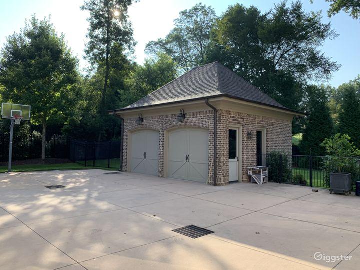 detached 2nd garage